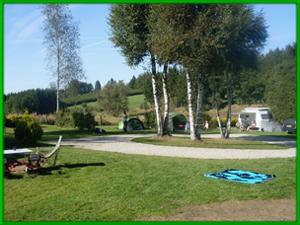 camping voor fietsers Ardennen