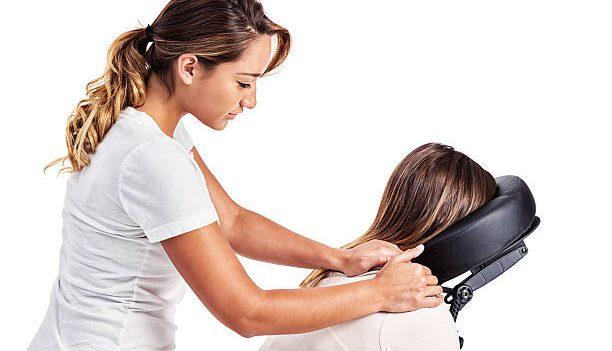 Massage op kantoor